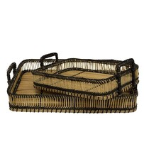 French Country Woven Tray