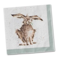 Wrendale Hare Luncheon Napkins