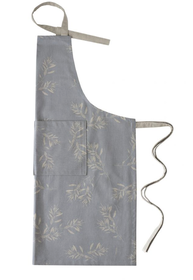 Raine & Humble Olive Grove Apron Blue 90x80cm