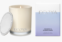 Ecoya Coconut & Elderflower Mini Madison Jar 80g