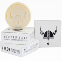 Valour Woodsman Shave Soap Refill - 100g