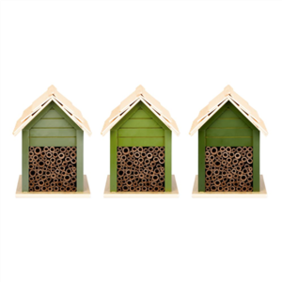 Esschert Design Green Bee House 16x14x21cm