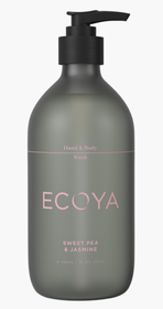 Ecoya Sweet Pea & Jasmine Hand & Body Wash - 450ml