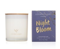Living Light Night Bloom Soy Candle Large 65hrs