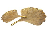 Stoneleigh & Roberson Bloom Metal Platter - Gold
