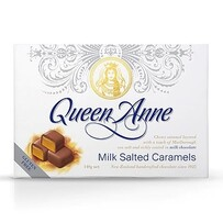 Queen Anne Salted Caramel Chocolates Milk 140g
