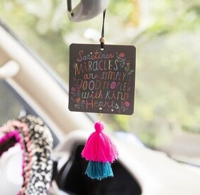 Natural Life Miracles Tassel Air Freshener