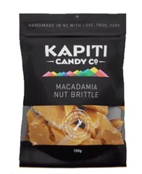 Kapiti Candies Macadamia Nut Brittle - 150g