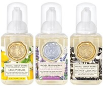 Michel Lavendar Rosemary,Lemon,Honey Almond Foaming Soap - Mini Pack of 3