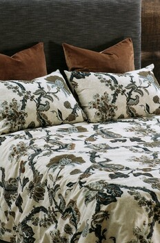 Bianca Lorenne Capriccio Duvet Cover Set - Natural