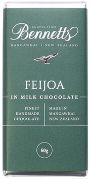 Bennetts of Mangawhai Feijoa Chocolate Bar - 60g