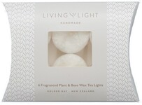 Living Light Pinot Noir Tea Lights - Box of 6