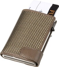 Tony Perotti Titanium Smart Wallet Taupe