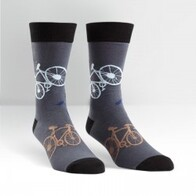 Sock it to Me Bikes Mens Crew Socks