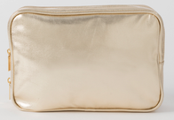 Citta Goldie Metallic Wash Bag Gold 28x8x19cmh
