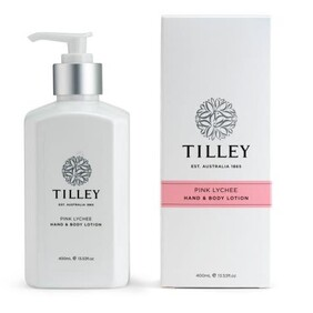 Tilley Pink Lychee Body Lotion - 400ml