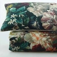 MM Linen Fiori Euro Set - Multi