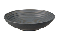 Denby Studio Grey Ridged Bowl - Charcoal 16cm