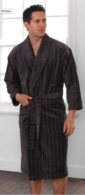 Baksana Relaxation Gunmetal Robe L/XL