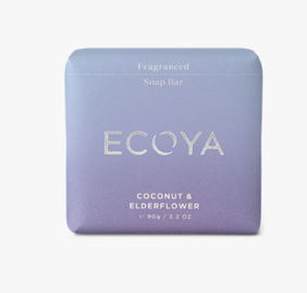 Ecoya Coconut & Elderflower Soap - 90g