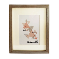 Urban Products White Wash Frame - 4x6""