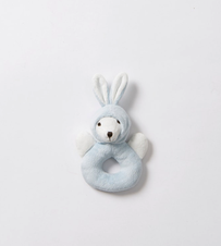 Citta Essentials Rabbit Rattle Blue