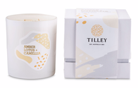 Tilley AmberLotus Camellia Candle 400g