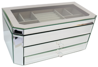 Le Forge Clear Mirror Jewellery Box - Style 1