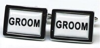 GD Groom Cufflinks
