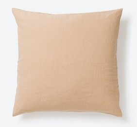 Citta Design Sove Linen Pillowcase - Latte Euro 65x65cm