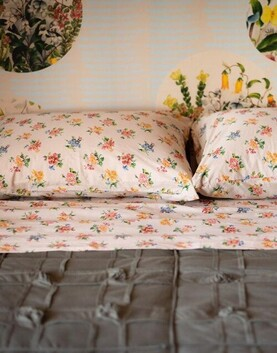 Lazybones Meadow Organic Cotton Sheet Set