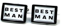 GD Best Man Cufflinks