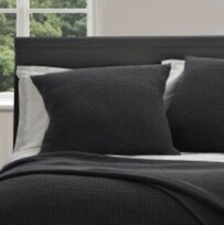 Baksana New Bliss Pillowcase - Black Euro
