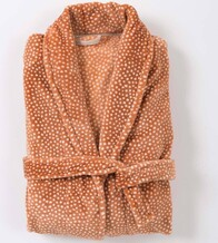 Citta Halo Women's Nap Dressing Gown - Toffee