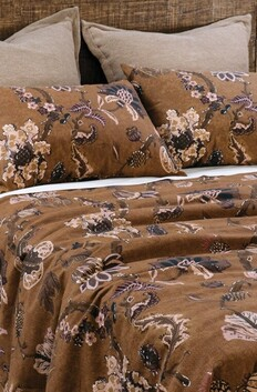 Bianca Lorenne Capriccio Duvet Cover Set - Copper