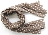 Beau Taupe Treasure Scarf