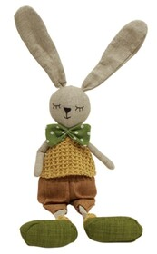 French Country Chester Sitting Bunny - 15x58cmH