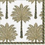 Image Gallery Grand Palms Napkins - Black