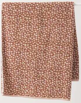 Citta Forget Me Not Organic Cotton Towel Collection - Chestnut