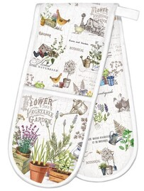Michel Country Life Double Oven Glove