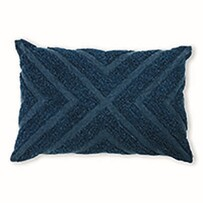 Madras Kennedy Cushion Indigo 40x60cm
