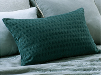 Bianca Lorenne Lilypad Cushion - Teal