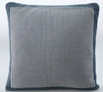 MM Linen Moss Cushion Bluestone - 50x50