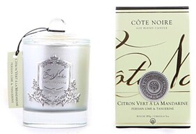 Cote Noire 185g Candle - Persian Lime & Tangerine Pale Green