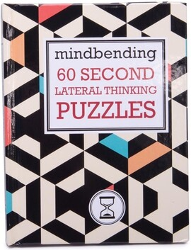 Lagoon Mindbender 60 Second Lateral Thinking Puzzles Book