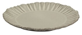 French Country Iris Fluted Side Plate - 21cmDiax2.4cmH