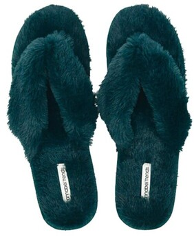 Annabel Trends Slipper Thongs - Green