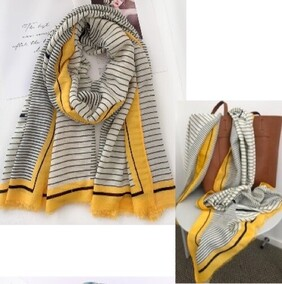 Bow Fashion Riviera Stripes Scarf
