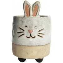 Urban Bunny Planter with Legs - Sand 16cm