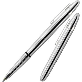 Fisher Bullet Pen - Chrome with clip